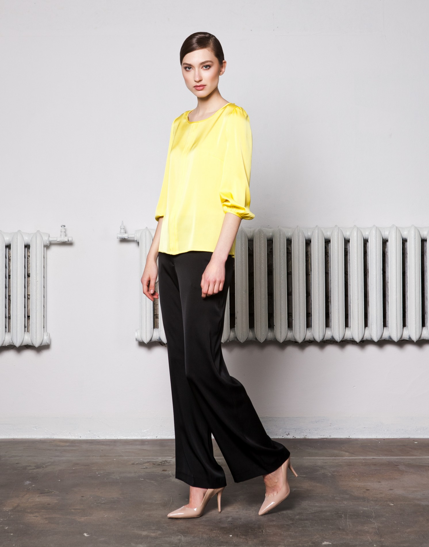 RIVIERA 3/4-Sleeved Blouse