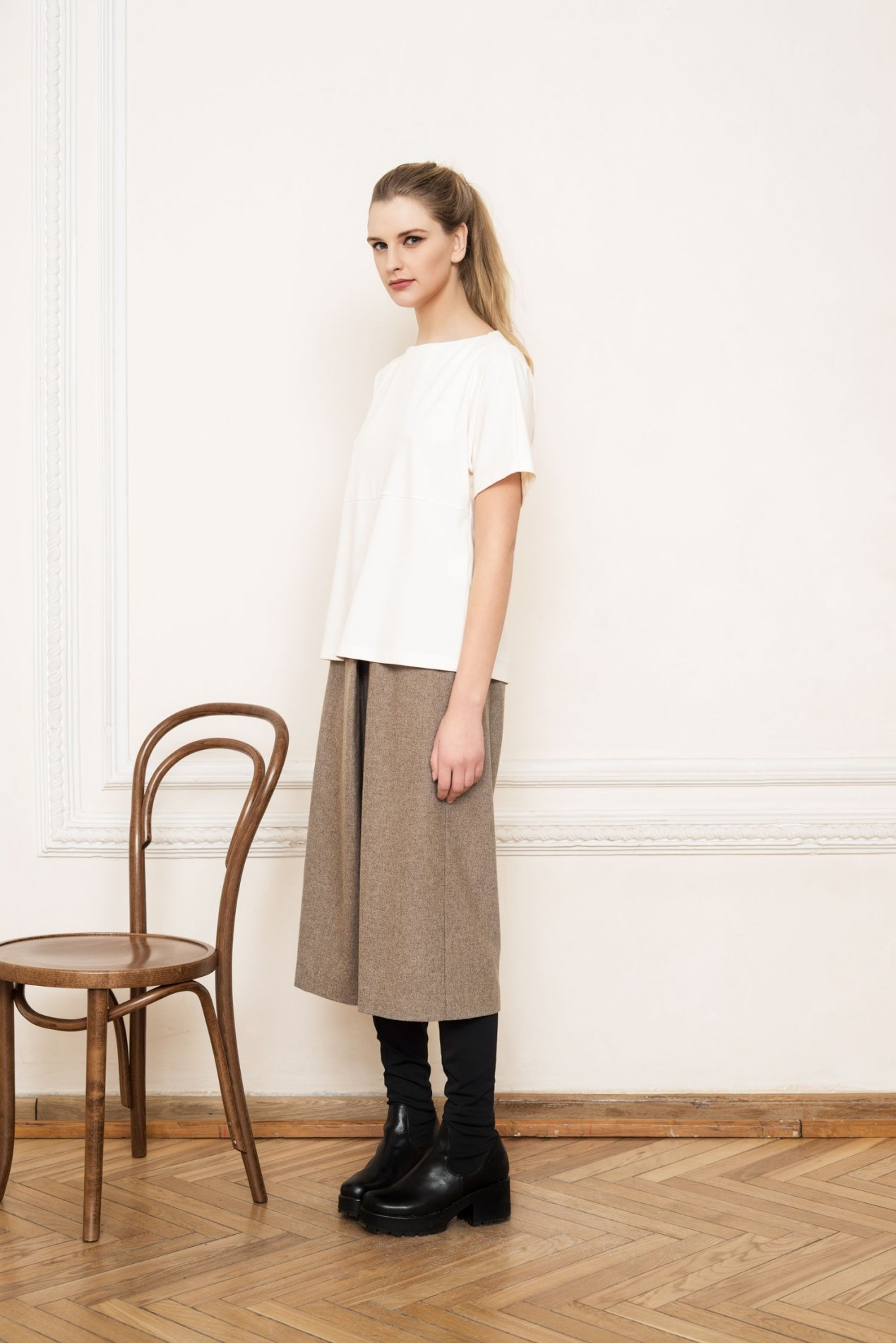ANDES Elegant Blouse and ALPS Culottes