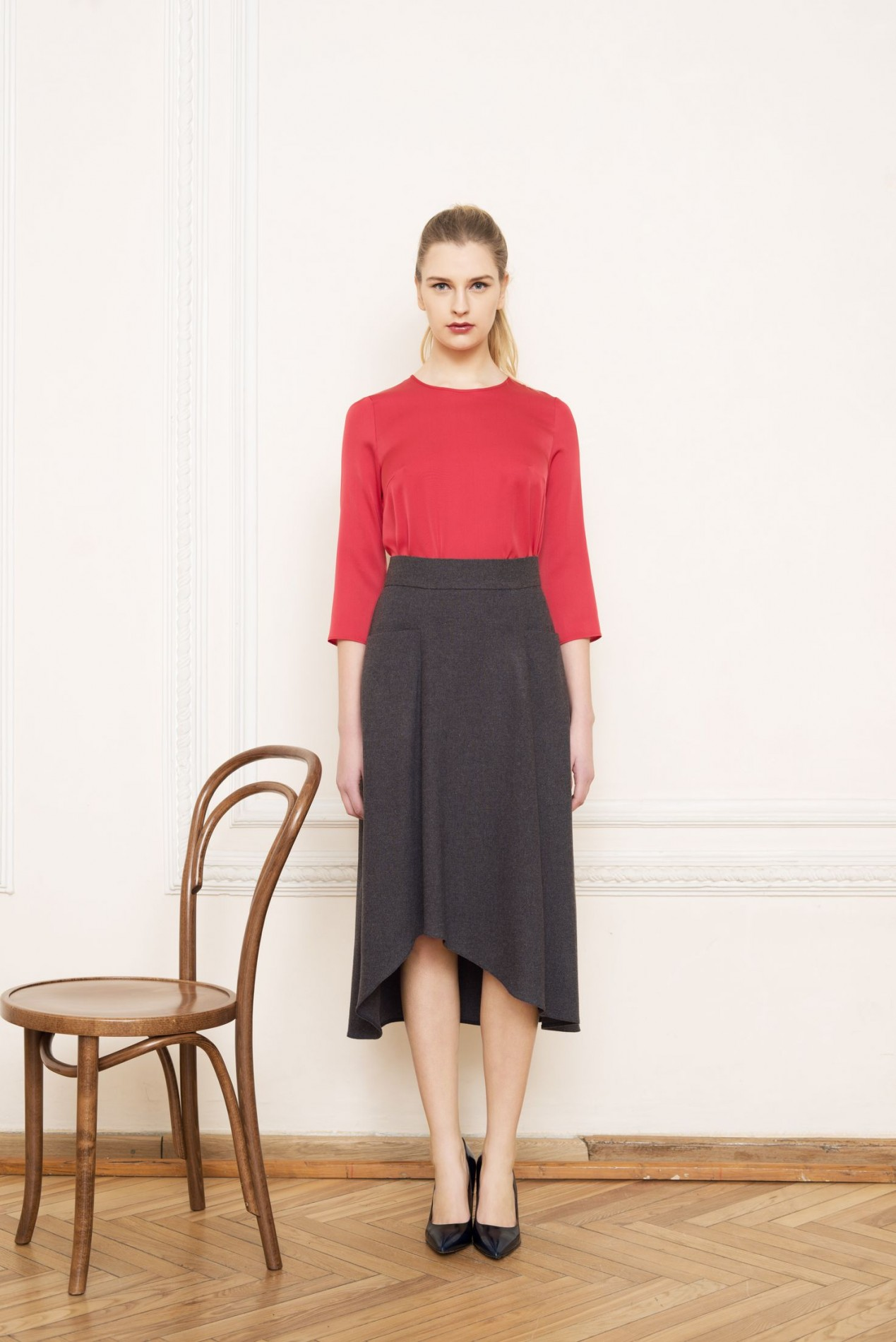 APENNINES Asymmetric Blouse and ALPS A-form Skirt