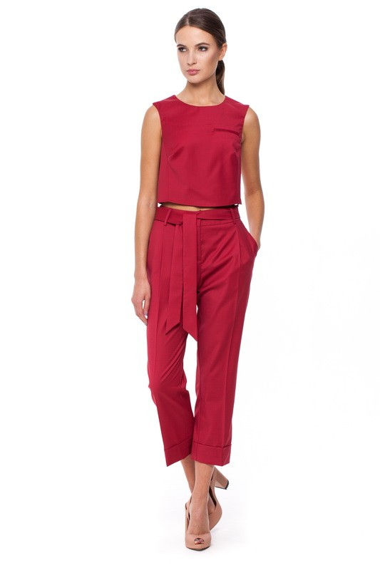 HURON Top and HURON Square-cut Trousers