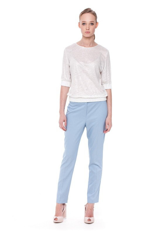 MALAWI Blouse and  BAIKAL Slim Trousers
