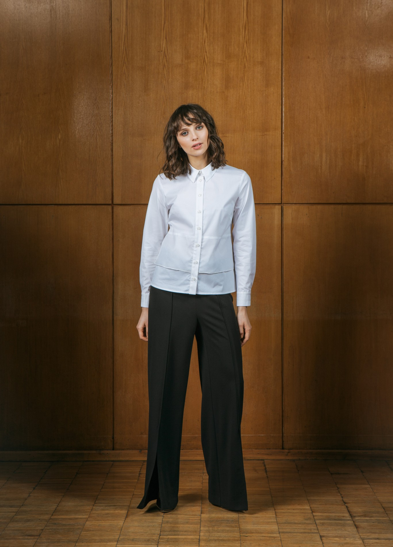 PEARL Elegant Shirt and ONYX Wide Trousers