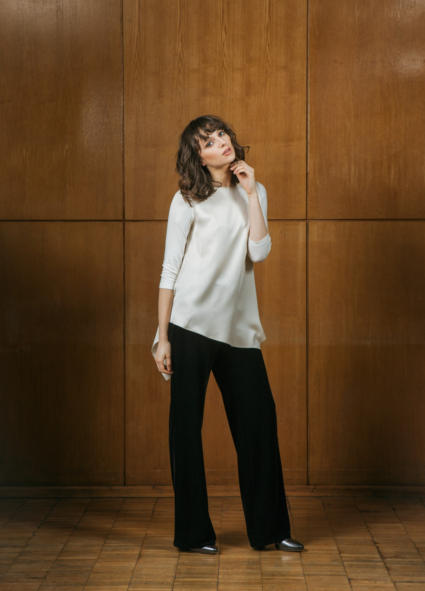 DIAMOND Asymmetric Tunic and OPAL Trousers