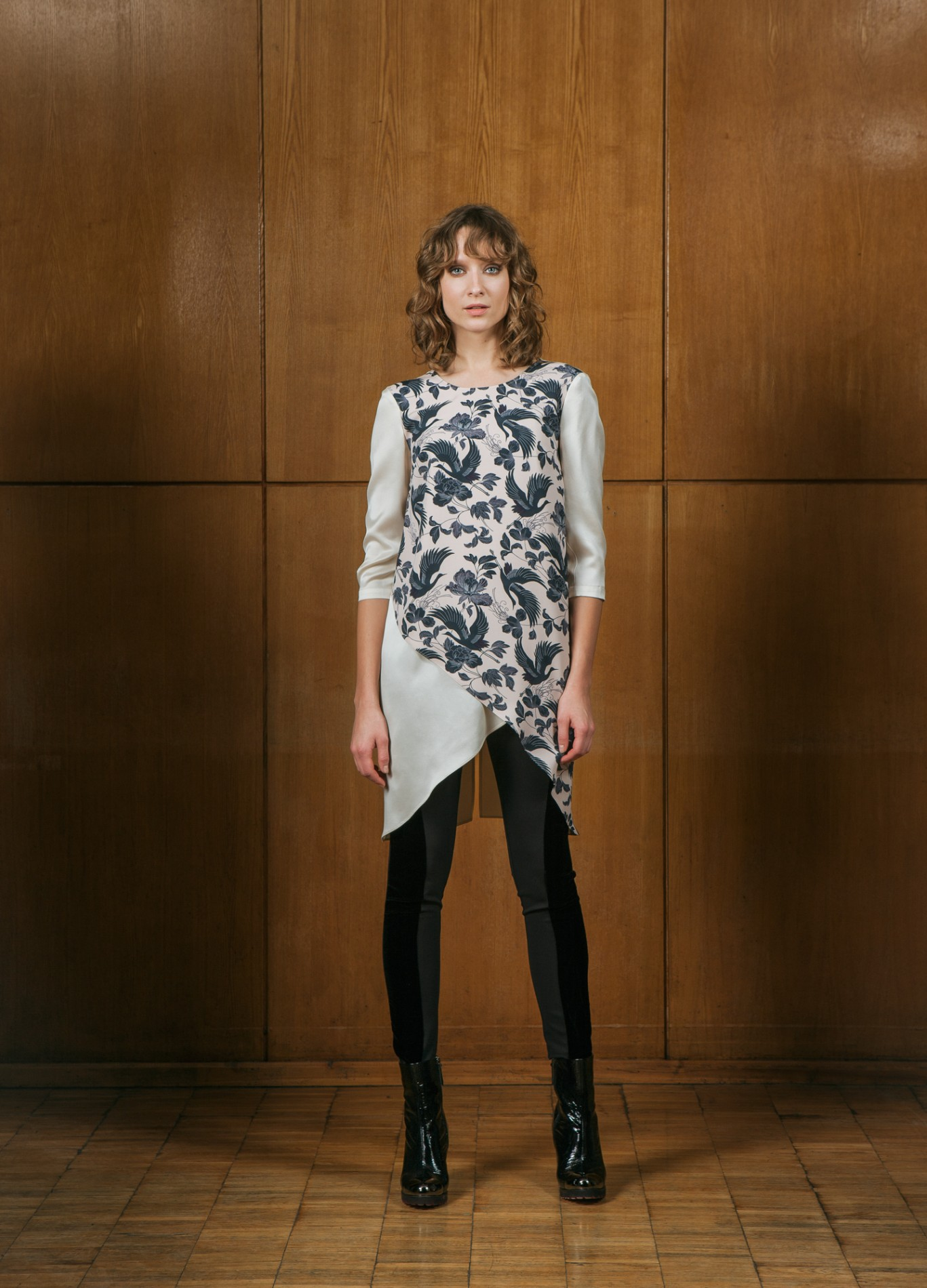 TOPAZ Asymmetric Tunic and ONYX Leggings
