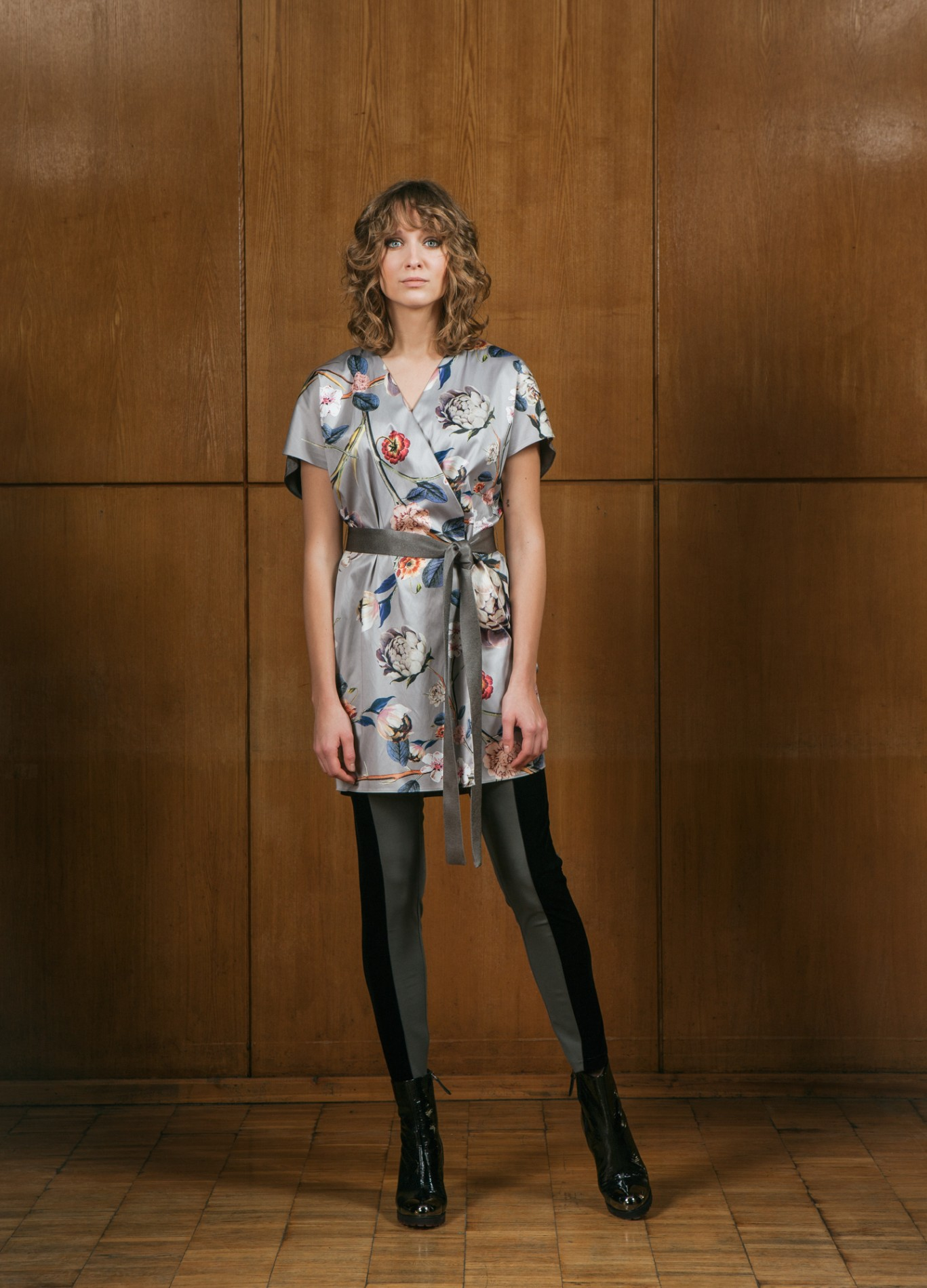 TOPAZ Wrap Dress and ONYX Leggings