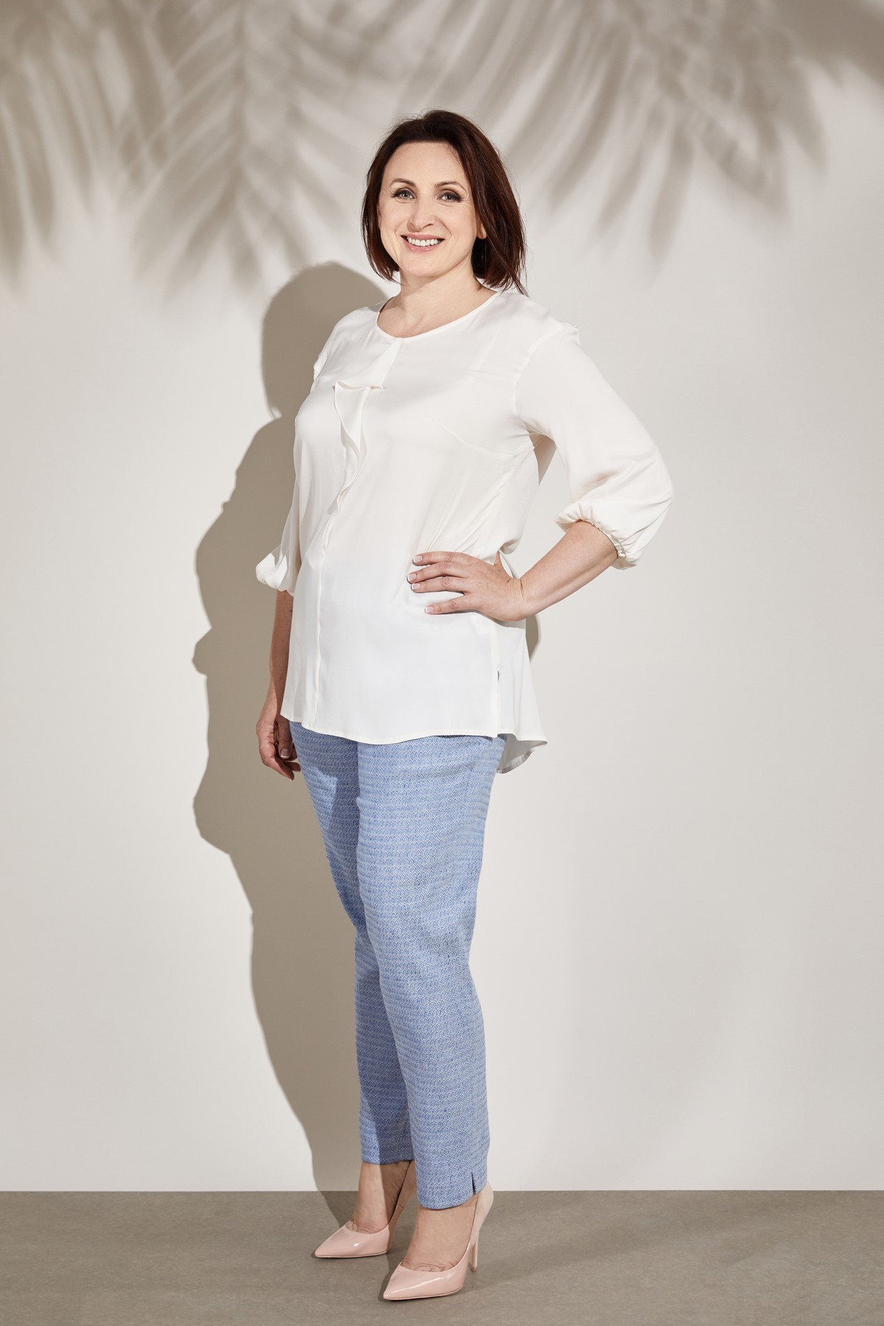 15ST67P ANTHEA ¾ sleeved Blouse