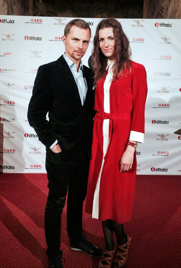 Justina Paluckienė wears LOULU ET TU Stockholm dress