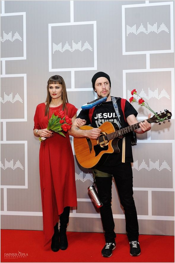 Jurga Šeduikytė wears LOULU ET TU Milan dress