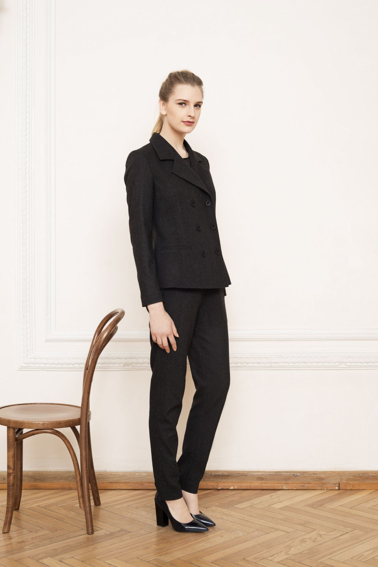 ALPS Double-breasted Jacket and ALPS Slim Trousers