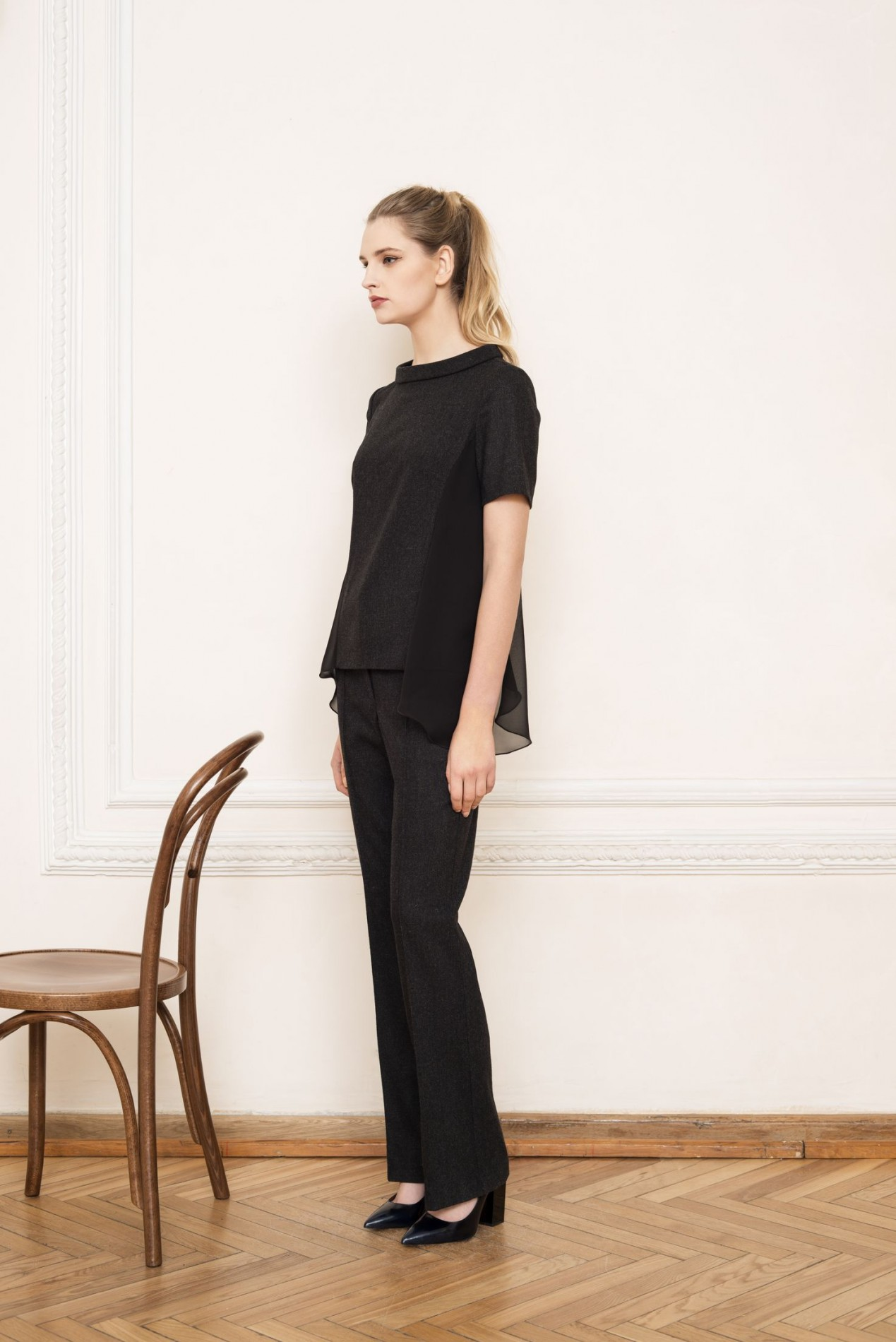 ALPS Elegant Blouse and ALPS Trousers