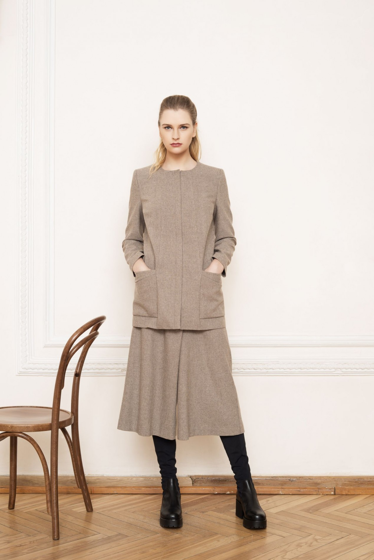 ALPS Long Jacket and ALPS Culottes