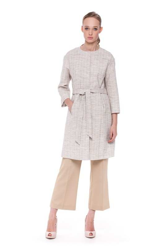 ARAL Coat and BAIKAL Flare Trousers