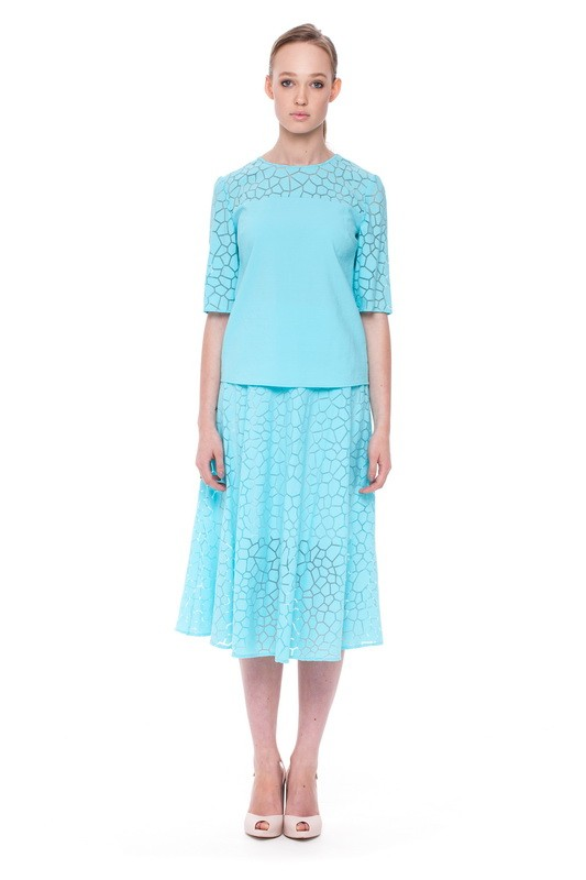ONTARIO Blouse and ONTARIO Flare Skirt