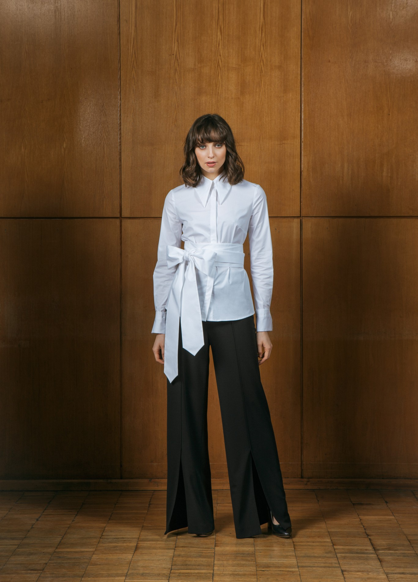 PEARL Shirt and ONYX Wide Trousers