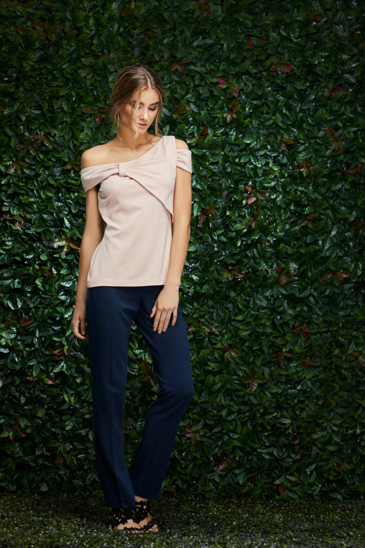 LETICIA Bow Blouse